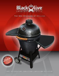 Download Brochure for Black Olive Charcoal Grill